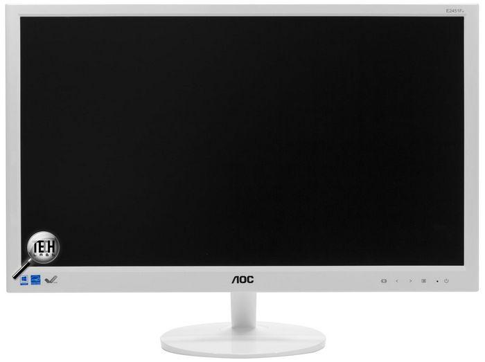 Aoc 2451fh: бюджетное стильное решение