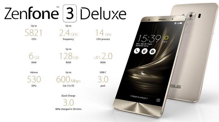 Asus zenfone 3 deluxe: невероятно мощный на базе snapdragon 821