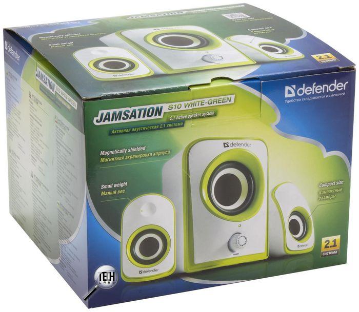 Defender jamsation s10: недорогая и яркая акустическая система