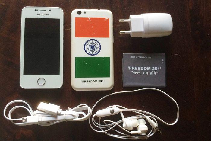 Freedom 251 - невероятный смартфон за 4 доллара. да, всего за $4…