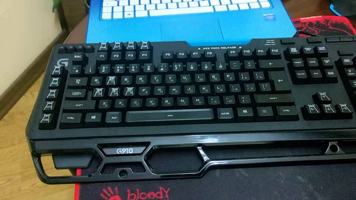 Геймерская клавиатура logitech g910 orion spark