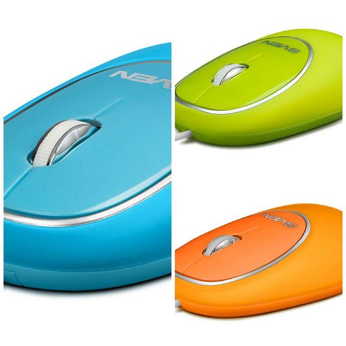 Яркий антистресс: компьютерная мышь sven rx-555