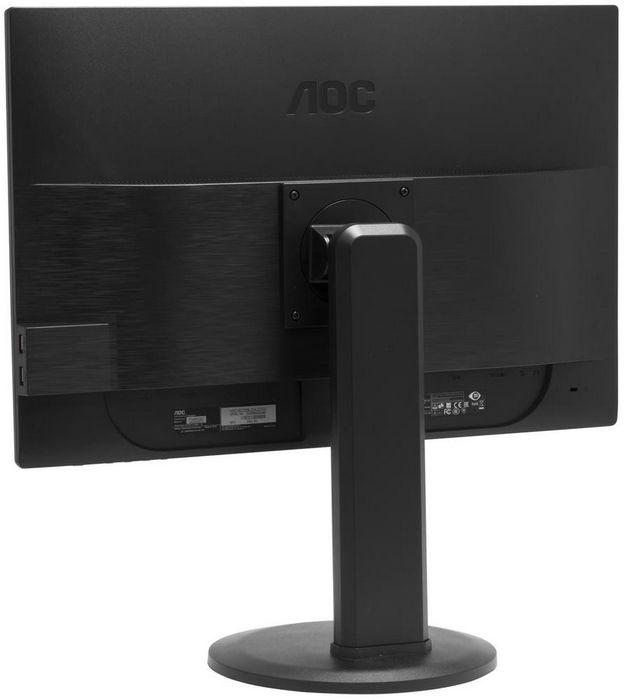 Монитор aoc p2460pxqu с матовым покрытием и регулируемой подставкой