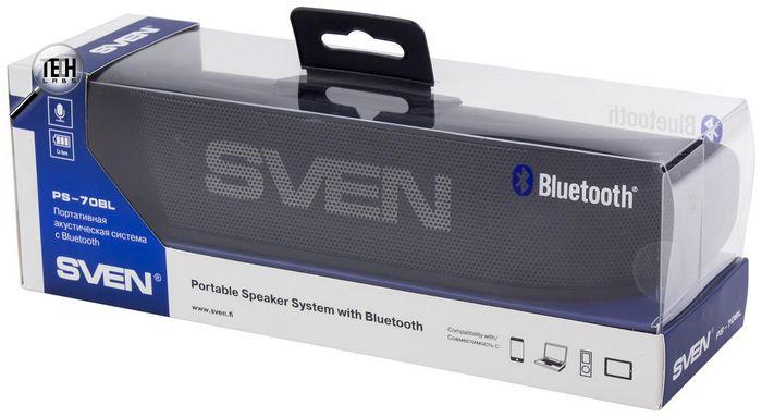 На пару со смартфоном: обзор портативной акустической системы sven ps-70bl