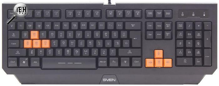 Начинающим геймерам: тестирование клавиатуры sven challenge 9300 и мыши gx-950 gaming