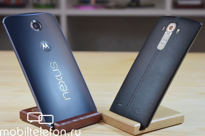 Nexus 6 против lg g4 или snapdragon 805 vs snapdragon 808