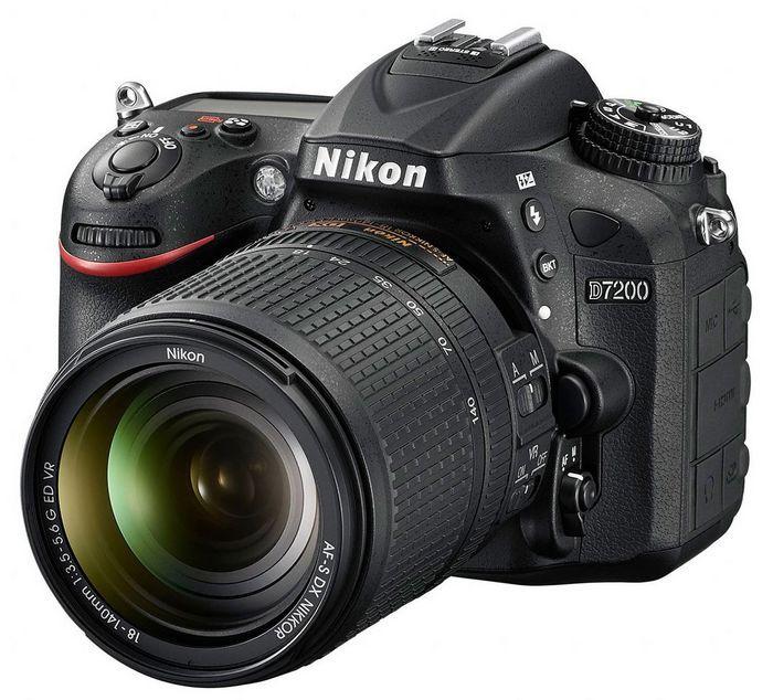Nikon d7200 – топовая модель любительской линейки