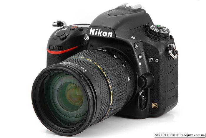 Nikon d750 – удобная камера для профессионалов и продвинутых любителей