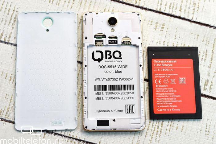 Обзор bq wide: яркий, быстрый, широкий