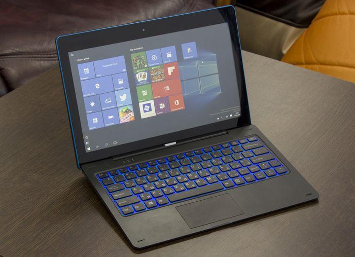 Обзор dexp ursus kx110: планшет на windows 10 с 3g и клавиатурой