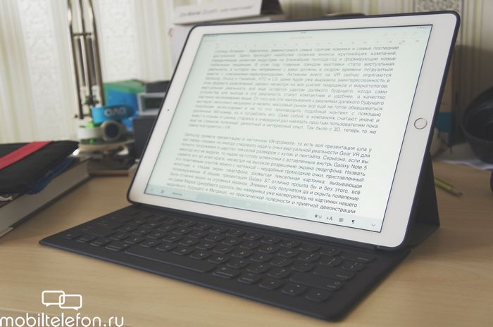 Обзор ipad pro. часть вторая: творчество, работа и опыт использования