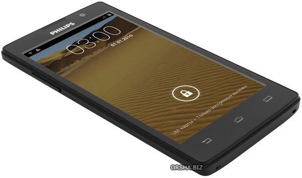 Philips w3500 — эталон недорогого 5-дюймового смартфона