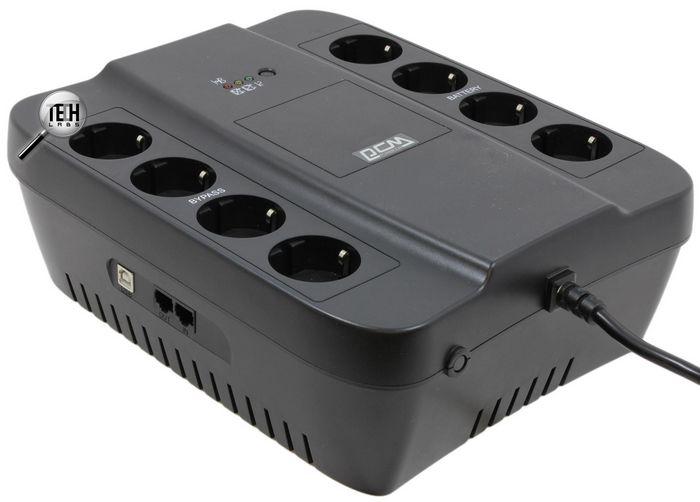 Powercom spd-850u: надежный ибп на восемь розеток