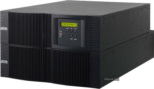Powercom vrt-6000: ибп для обеспечения защиты высоконагруженных стоек