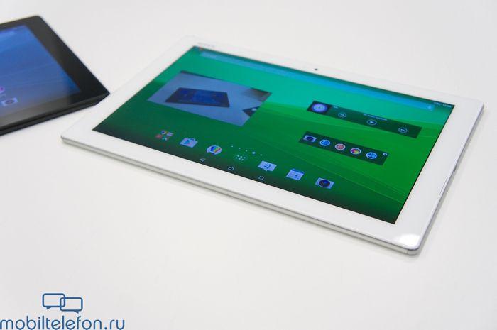 Предварительный обзор sony xperia m4 aqua и xperia z4 tablet