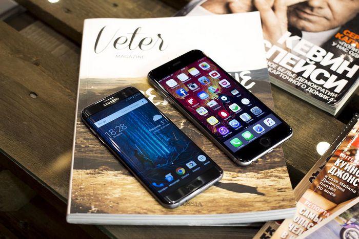 Samsung galaxy s7 vs apple iphone 6s: 15 преимуществ корейца