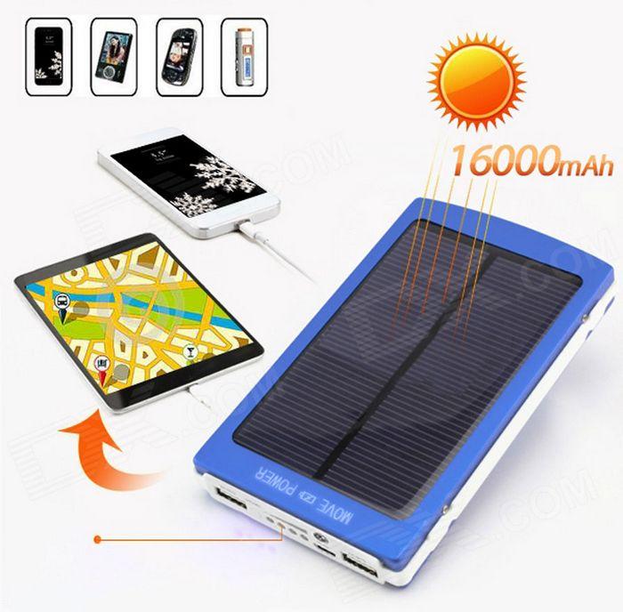 Светодиодный карманный фонарик на солнечной батарее от solio