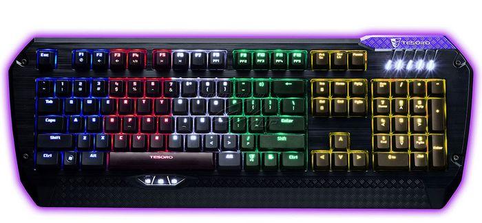 Tesoro lobera supreme: игровая клавиатура с большим потенциалом