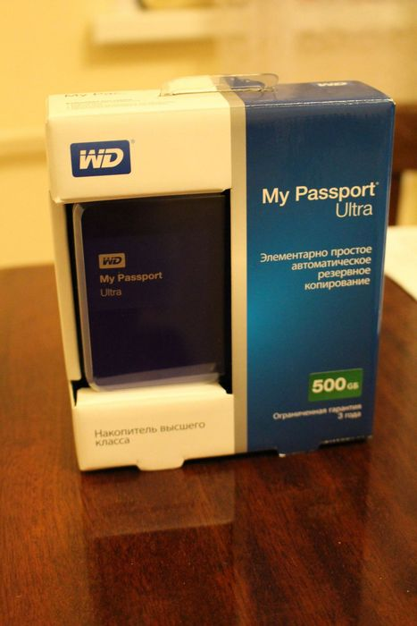 Wd my passport ultra: чуть больше, чем винчестер