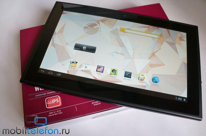 Wexler.tab 10iq: недорогой и очень производительный планшет