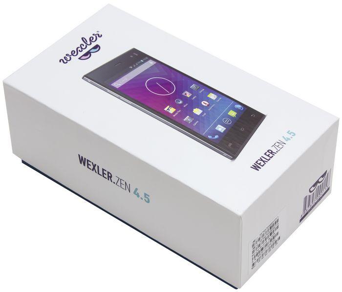 Wexler zen 4.5: тонкий и стильный смартфон по доступной цене