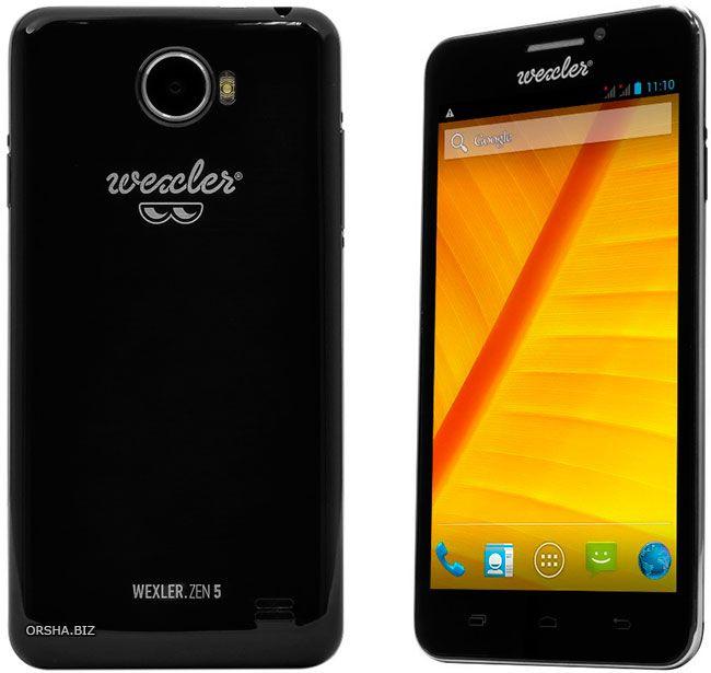 Wexler.zen 5+: смартфон по-настоящему высокого качества