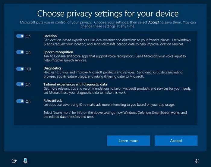 Windows 10 угрожает конфиденциальности данных пользователей