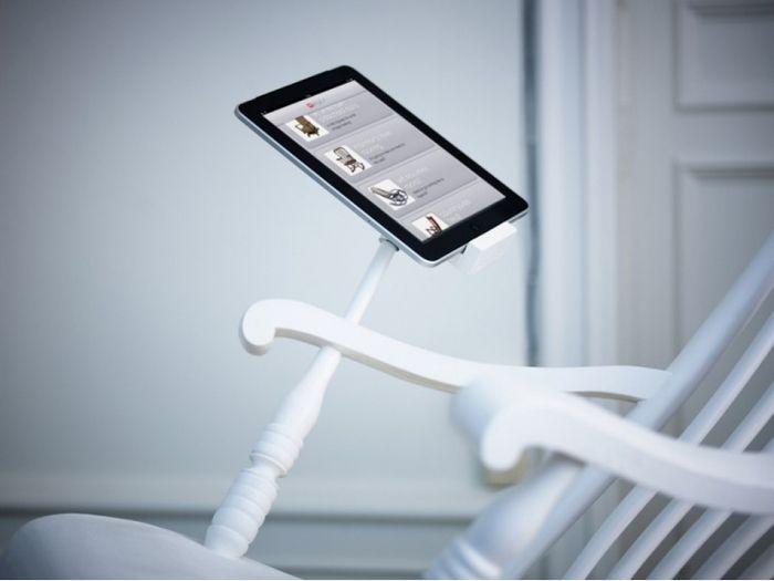 Зарядка для iphone, работающая от кресла-качалки